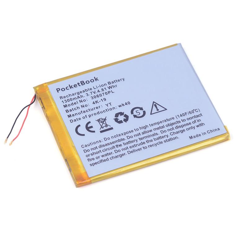 306070PL 3.7V 1300mAh Rechargeable Li-Polymer Li-ion Battery For GPS Tablet PC PocketBook 4G-15 / 4K-19 E-book 306070 1300mah li ion battery