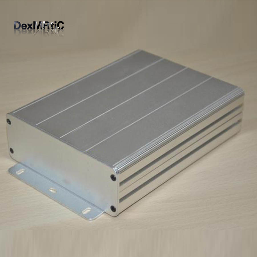 Aluminum enclosure Instrument shell electric desktop box DIY 122X44X160mm NEW high tech and fashion electric product shell plastic mold