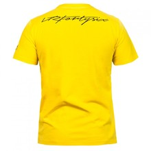 Valentino Rossi VR46 Moto GP Monza Cotton T-shirt 46 Large LOGO T Shirt YELLOW
