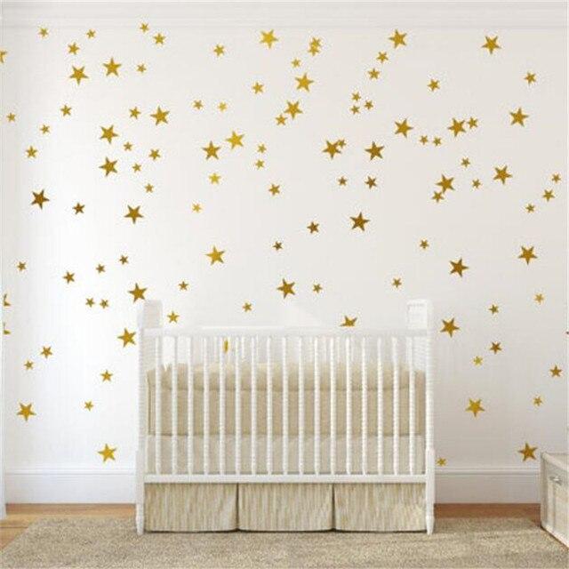 IDFIAF Cartoon Pentagram Stars Decorative DIY Wall Mural Sticker for ...