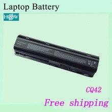 Новинка для MU06 MU09 WD548AA WD549AA MU09XL CQ42 аккумуляторная батареядля ноутбука hp Тетрадь ПК 630 631 636
