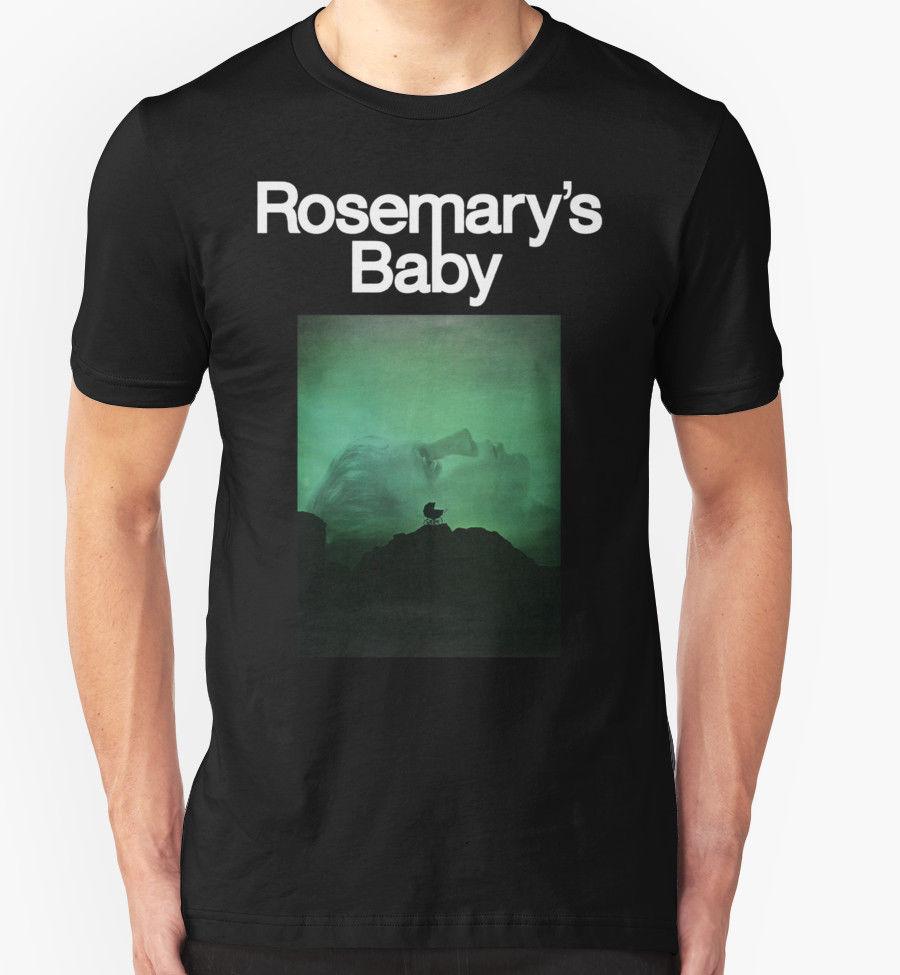 ROSEMARY'S BABY T SHIRT 1970'S MOVIE FILM HORROR RETRO VINTAGE BIRTHDAY PRESENT