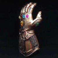 Перчатки Thanos Infinity Gauntlet Мстители Infinity War супергерой танос фигурка ПВХ Новая коллекция Коллекция игрушечных фигурок