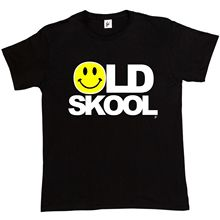 Old Skool Rave DJ Dance Acid Festival T Shirt Mens T-Shirt Harajuku Tops Fashion Classic Unique t-Shirt gift free shipping