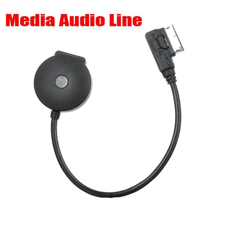 AT 1PCS Bluetooth Audio Aux Media In AMI MDI USB Female
