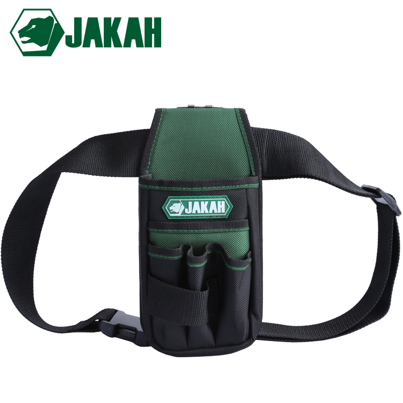 JAKAH Wholesale Toolbag Electrician Tool Bag Waterproof Oxford With Waist Belt Tools Professional Bag Price