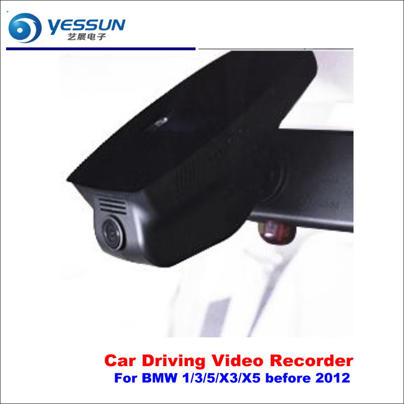 YESSUN For BMW 1/3/5/X3/X5 before 2012 Car DVR Driving Video Recorder Front Camera Black Box Dash Cam - Head Up Plug Play OEM yessun car front camera for audi a6 high edition dvr driving video recorder black box dash cam head up plug oem 1080p wifi