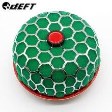 DEFT автомобильный воздушный фильтр Универсальный Автомобильный модифицированный грибной головкой 60 мм круглый очиститель Высокая струящаяся Система впуска перезагруженный фильтр