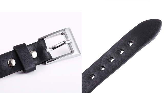 Konoha Black Leather Bracelet