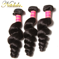 Grade 7A Brazilian Loose Wave 3pcs/lot 16-26inch Brazilian Virgin Hair Loose Wave Unprocessed Hair 100% Human Hair Weave Bundles
