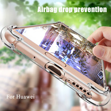 Anti-knock Airbag TPU Silicone Case For Huawei Nova 3i 3 P20 Lite Mate 10 Pro 20 Lite Clear Back Cover Coque For Honor 9i 9 lite(China)