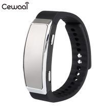 with Mic Wrist Watch Voice Recorder Wristband Dictaphone Earphone Rechargeable Premium Compact