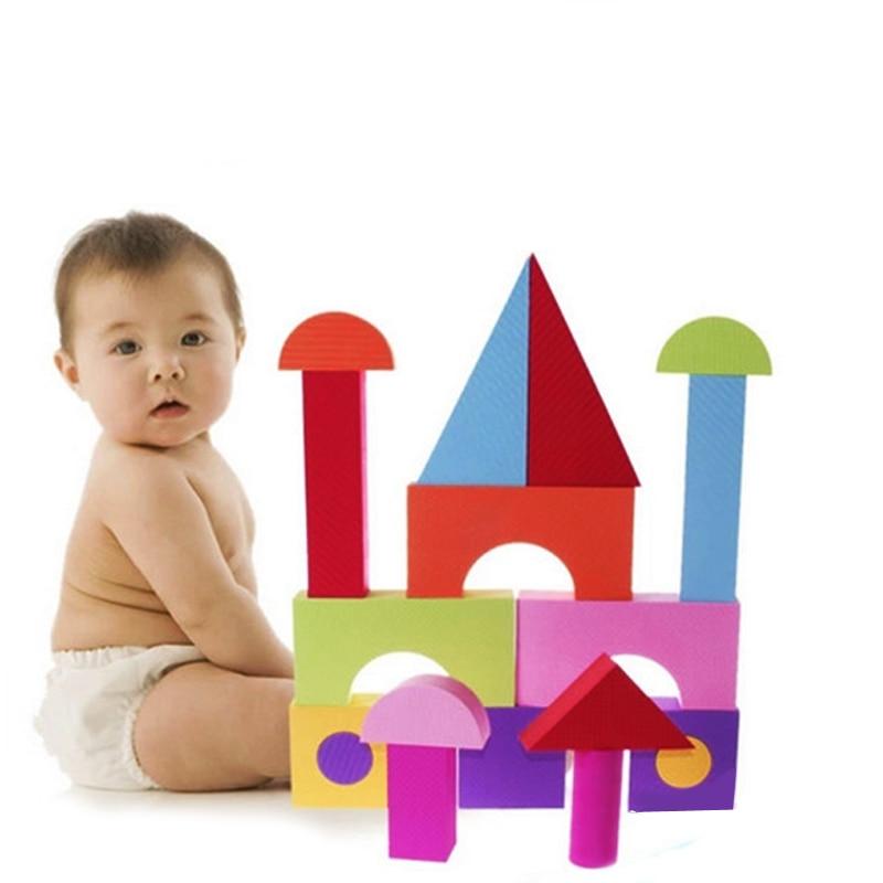 50 Pcs Set Eva Foam Blocks Educational Kids Toys For Children