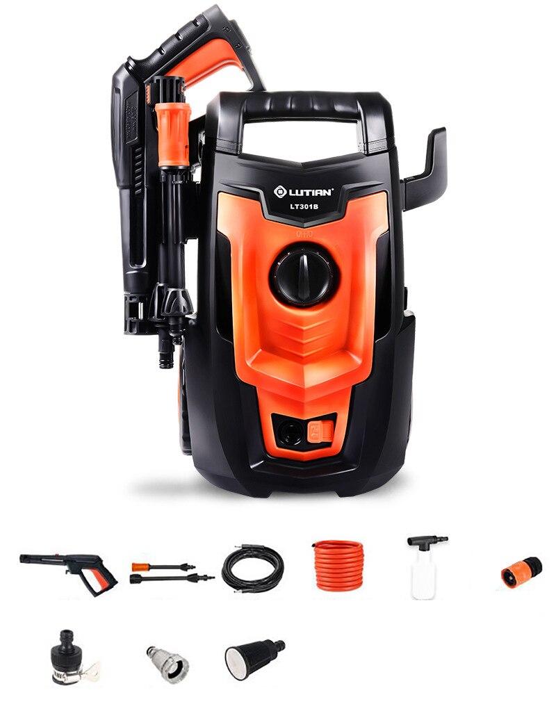 220 v Per Uso Domestico portatile ad alta pressione di lavaggio auto macchina del veicolo pavimento lavatrice 1400 w 110bar 5.5L/min Y