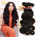 7a Stema hair Brazilian Body Wave 4 Bundles Unprocessed Brazilian Virgin Hair Body Wave Human Hair Brazilian Body Wave Hair