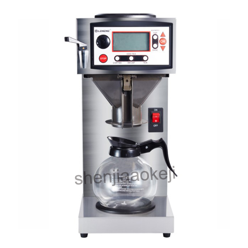 220v Commercial Smart cafe machine Hong Kong-style black tea machine Stainless Steel American coffee machine tea water machine new hot 19 22cm justice league batman v superman dawn of justice wonder woman action figure toys collection christmas gift doll