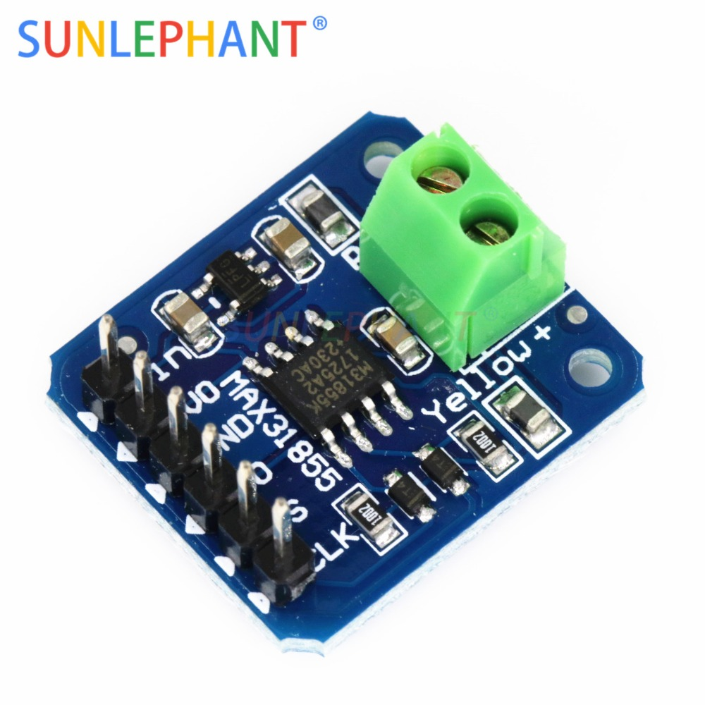 MAX31855 K Type Thermocouple Breakout Board Temperature Measurement Module For Arduno Wholesale priceMAX31855 K Type Thermocouple Breakout Board Temperature Measurement Module For Arduno Wholesale price
