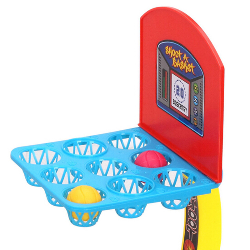 Desktop Games Basketball Family Games Basketball Stands Toy Balls for Childern