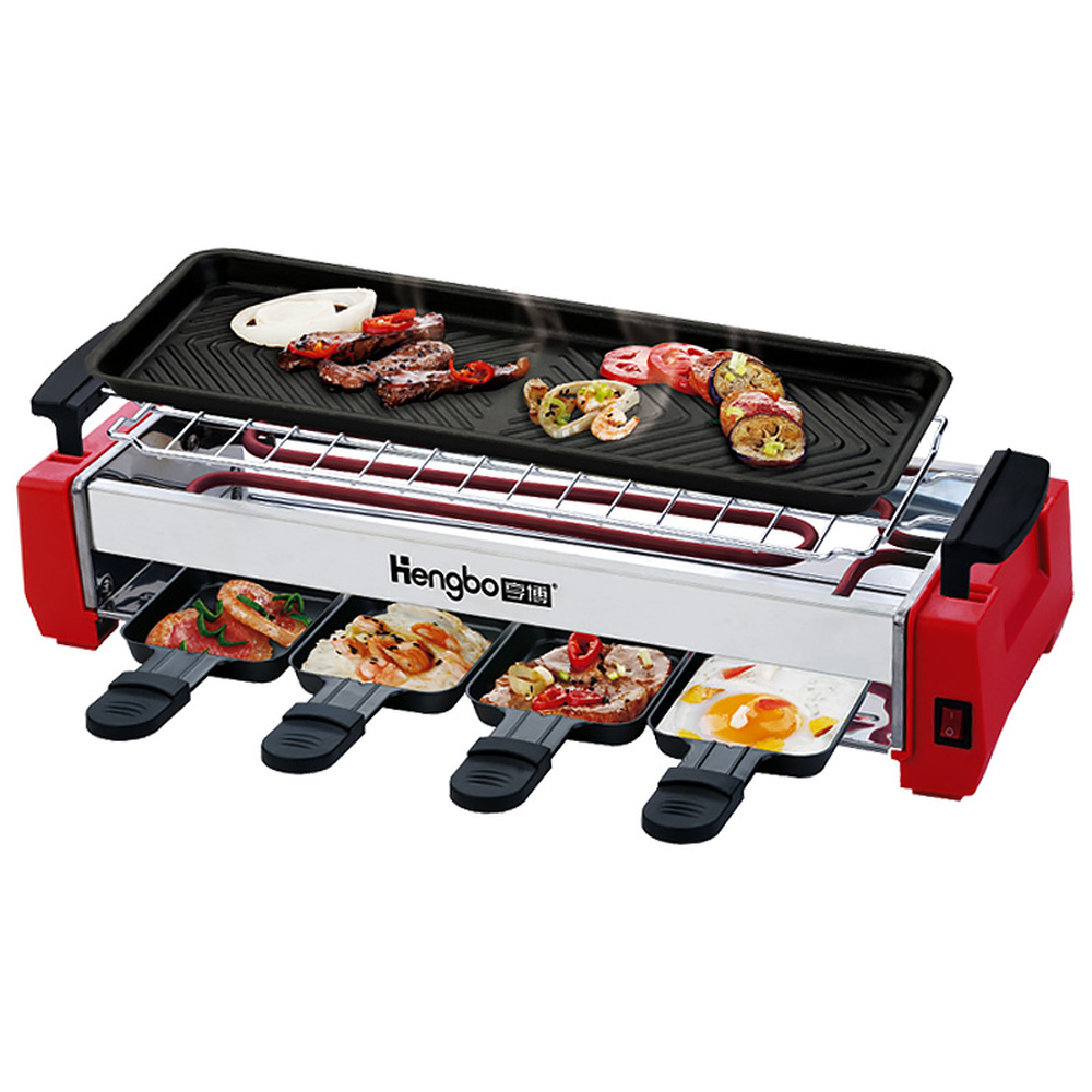 BBQ Home Electric Oven Student Dormitory Non-smoke-free electric grill non-stick barbecue pan LM01041811BBQ Home Electric Oven Student Dormitory Non-smoke-free electric grill non-stick barbecue pan LM01041811