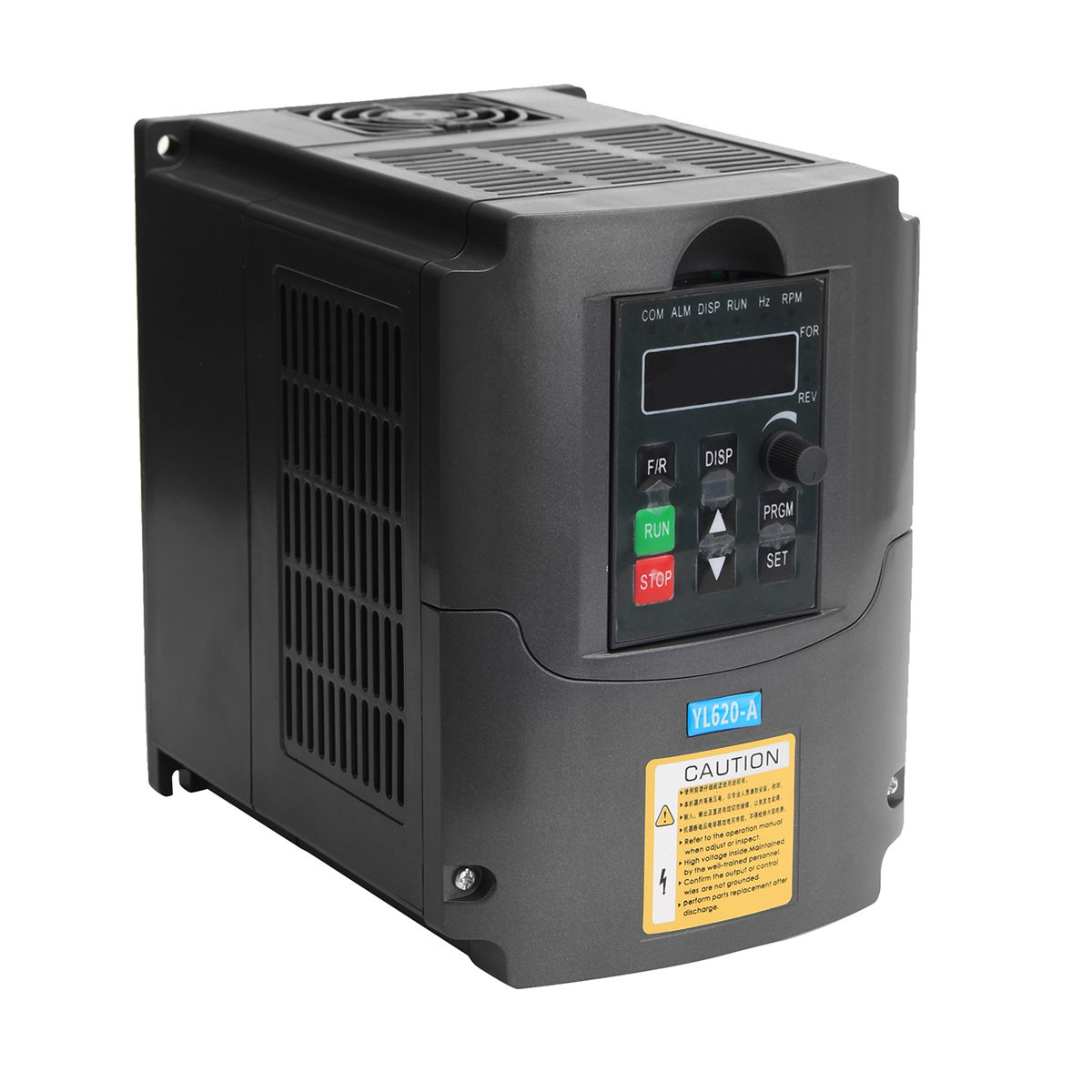 New 2.2KW 220V AC Variable Frequency Inverter Converter 3 Phase Output Built-in PLC Single Phase Space Voltage Vector Modulation new original sgdm 15ada 200v servopack single 3 phase