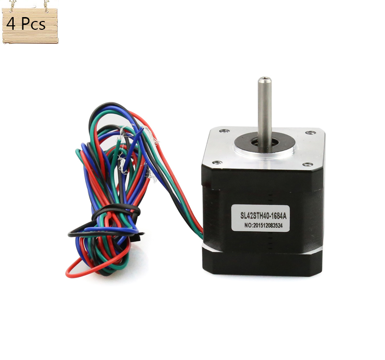 Buy anet high quality 4pcs stepper motor for 3 phase stepper motor