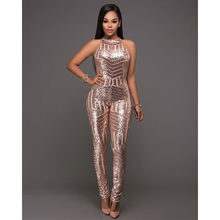 96795506e00c glitter gold sequin bodysuit rompers womens jumpsuit plus size combinaison  femme jumpsuits for women 2018 body mujer feminino