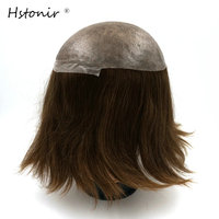 Top Quality Factory Direct Injected Lace Hair Piece Hair Toupee