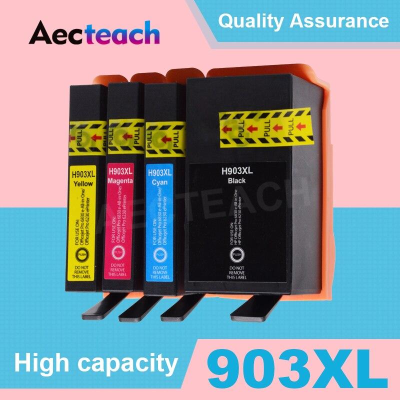 4 couleurs Compatibles Cartouche D'encre Pour HP 903 903XL 907 Officejet Pro 6950 6960 6962 6963 6965 6966 6968 6970 6978 6979 Imprimante