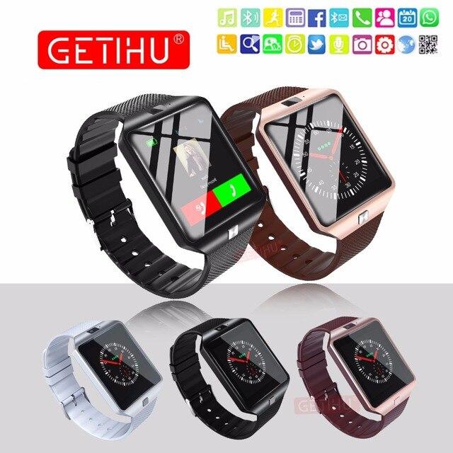 DZ09 U8 Smart Watch Sport SIM цифровые наручные телефон Bluetooth часы с Для мужчин SmartWatch человек для iphone apple Samsung Android часы