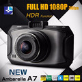 "2016 Mini Car DVR G90 Dsh Camera Ambarella A7 2.7"" 1080P Full HD Night Vision Video Recorder 170 Degree Black Box Car recorder"