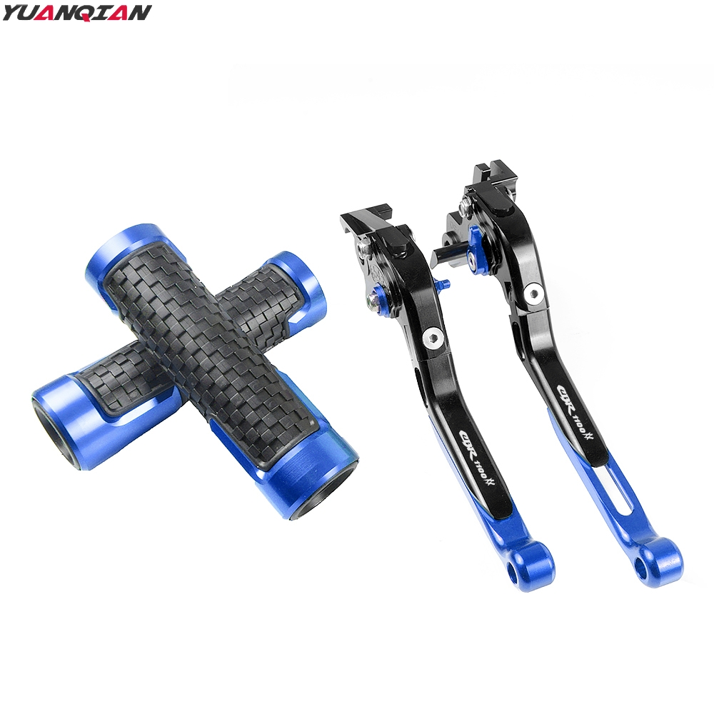 Image 4 - New Motorcycle Adjustable Foldable Extending Brake Clutch Lever Handle Grips Set For Honda CBR1100XX CBR 1100 XX 1997 2007-in Covers & Ornamental Mouldings from Automobiles & Motorcycles