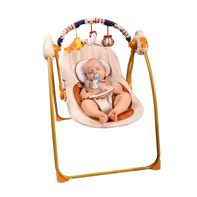 Bouncers,Jumpers U0026 Swings Activity U0026 Gear Mother U0026 Kids Foldable Portable  Electric Baby Rocking Chair Hot New Can Customized