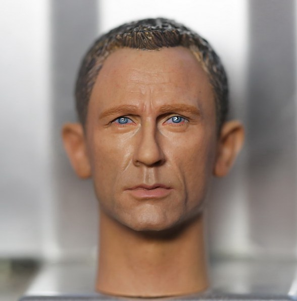 1:6 scale male Figure accessories Daniel Craig 007 James Bond head shape carved for 12 Action figure doll daniel robbins string theory for dummies