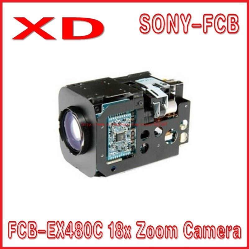 free shipping FCB-EX480C 18x Zoom Camera NTSC sony CAMERA mini zoom camera module/small cctv camera module yunsye free shipping sony fcb ex1010p 36x zoom sony camera module 36x zoom camera high resolution mini camera small ptz