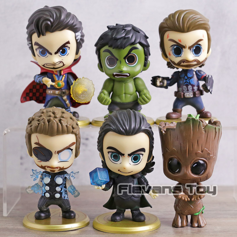 Avengers Infinity War Cosbaby Doctor Strange Thor Cute Mini Figure New In Box