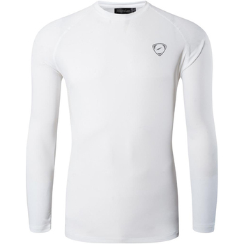 Jeansian Men's UPF 50+ UV Sun Protection Outdoor Long Sleeve Tee Shirt Tshirt T-Shirt Beach Summer LA245 White