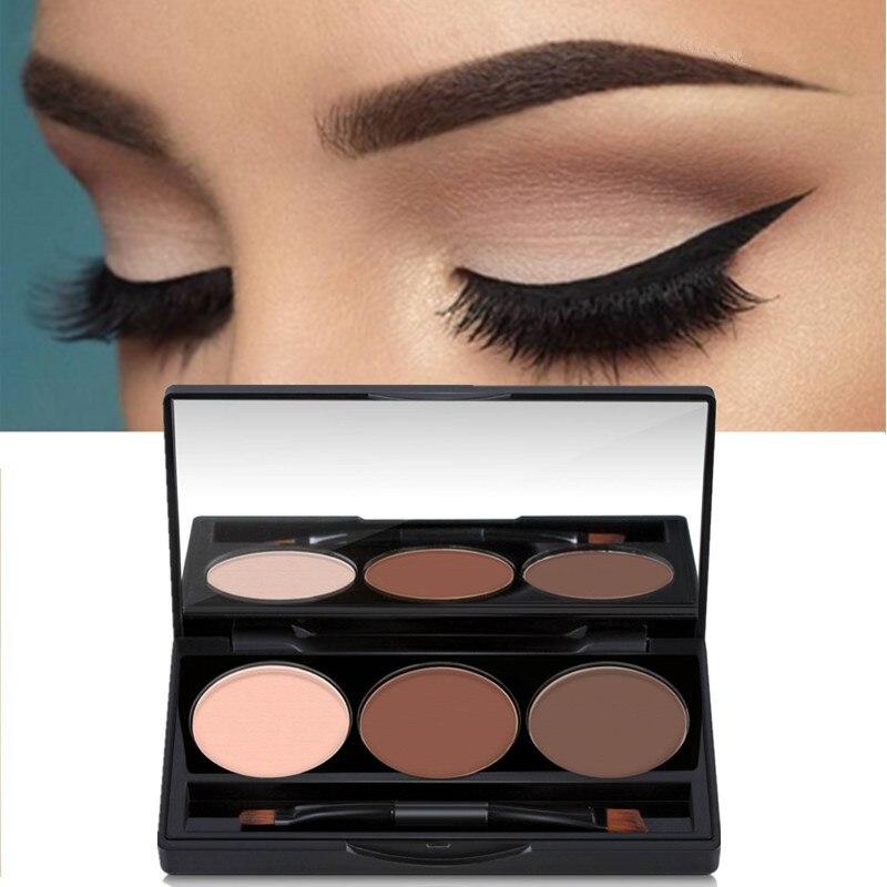 Eyebrow Enhancer Professional Eye Brow Makeup 2 Color Perfect Summer Eyebrow Powder Eye Shadow Eyebrow Make Up Palette Set Kit just make up сухая подводка brow powder 116 цвет 116 variant hex name 947962