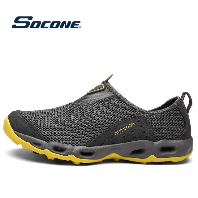 80c089b38909 Outdoor Sneakers Women Men Sports Aqua Water Shoes Breathable Spring Summer  cool Trekking Sneakers Sports Water Couples Shoes