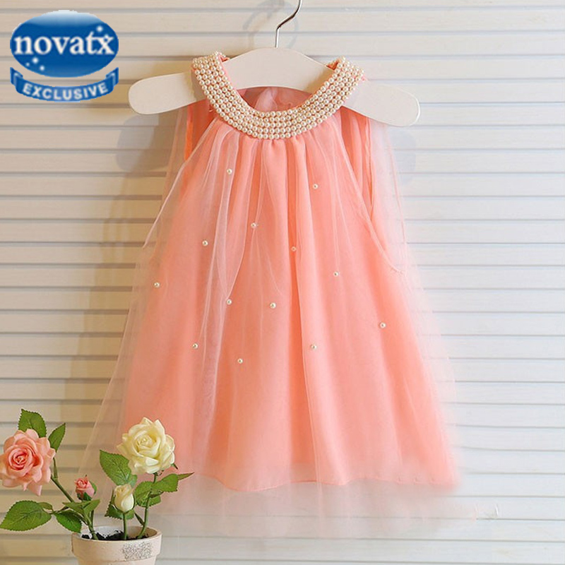 Baby girls princess dress party dresses with bow kids clothes frocks Novatx children clothing lace wedding trolls for girls D044 data charging cable for nokia e7 e7 00 90cm length