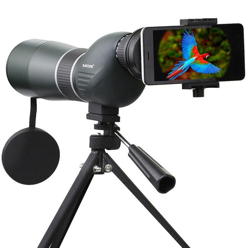 15-45X60A Spotting Scope Monocular Scope FMC Multi-layer Coating Lens Outdoor Telescope For Birdwatching Hunting 40x60 hunting monocular telescope zoom optic lens binoculars spotting scope coating lenses dual focus optic lens
