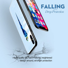 TOTU cute cartoon luxury cola TPU hard shell protector for iPhoneX luxury tempered glass cover for iPhone X 10 protective cover цена