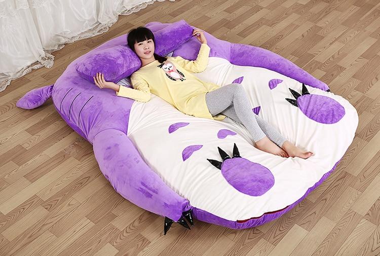 2016 170*200cm Large Size Big Totoro Double Bed Soft Memory Foam Mattress  Pad Sleeping Giant Cartoon Anime Tatami Vbi In Movies U0026 TV From Toys U0026  Hobbies On ...
