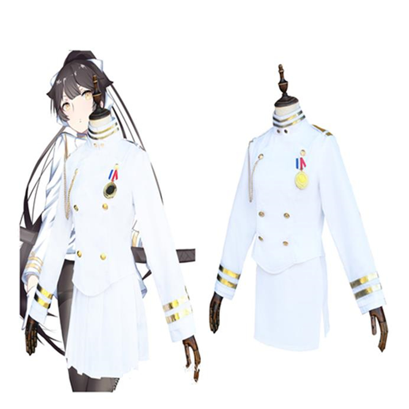 Halloween Cosplay bleu Route navire Niang Kaohsiung amour chien Cos uniforme dames armée ventilateur costume dames costume