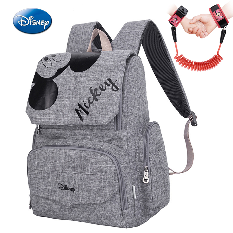 2019 Disney Mickey Minnie Mummy Maternity Nappy Bag Baby Travel Nappy Backpack Designer Nursing Bag For Baby Care Diaper Bag