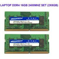 Kembona ноутбука DDR4 16 ГБ KIT (2X8 ГБ) Оперативная Память память 2400 мГц Memoria 260 контактный SODIMM Оперативная память Stick Бесплатная доставка