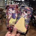 New snow white Cartoon patterns phone cases for iPhone 6 6s 6plus 6s plus for iPhone 7 7plus back cover for kids for girls