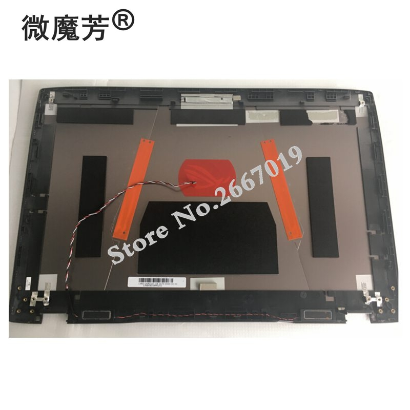 цена New Laptop LCD Back Cover For ASUS GX800 GX800VG A shell 13N0-U6A0101 13NB0BI0AM0201