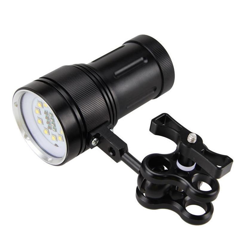 Yimistar  #3525  10x XM-L2+4x R+4x B 12000LM LED Flashlight Bicycle Accessories New Sale Wholesale P80 Bicycle Light