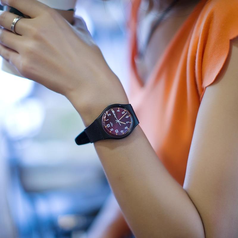 Swatch Watch Classic Color Code Series Quartz Watch GB753 swatch swatch watch jelly timing series multi function chronograph quartz watch susb412