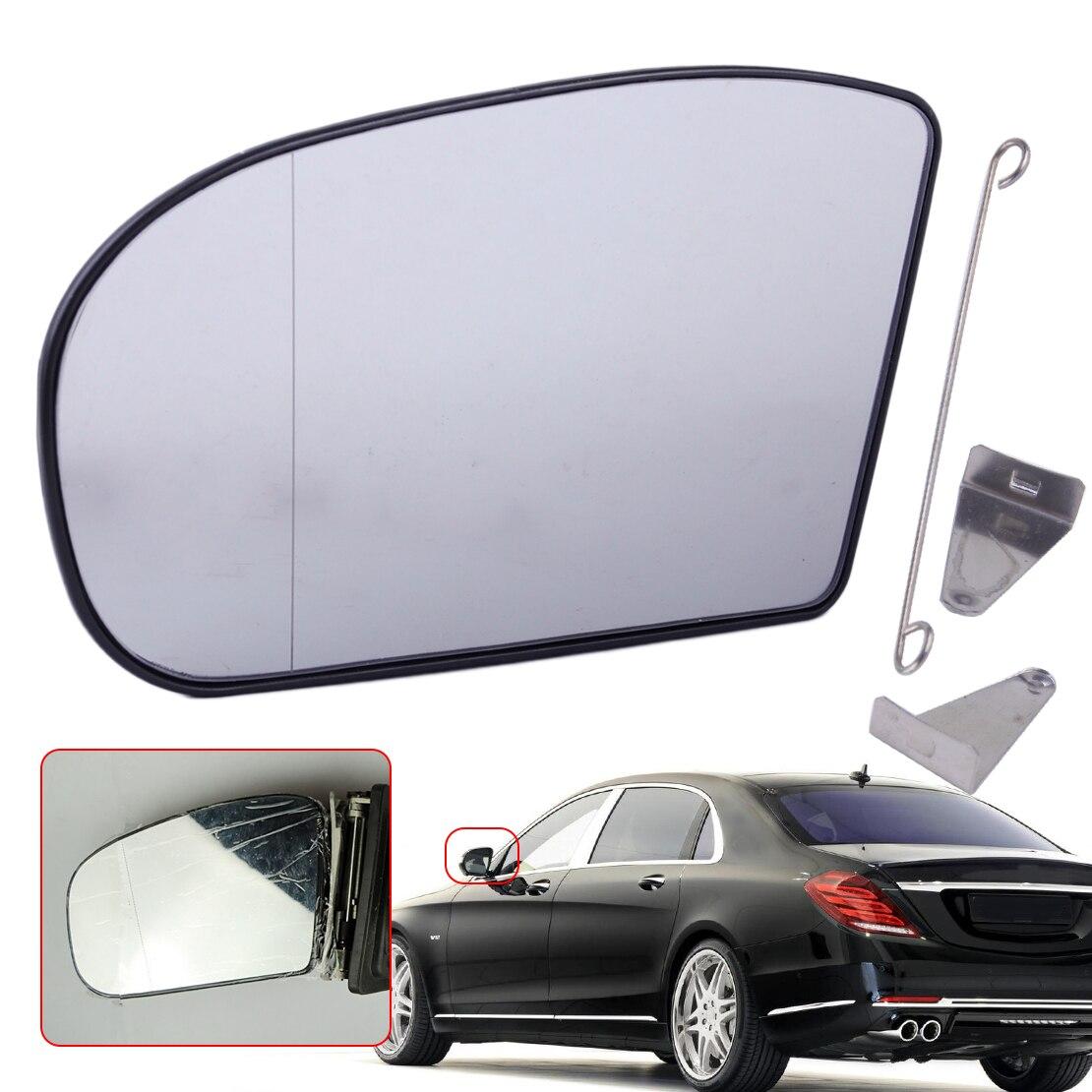 CITALL Left Heated Wide Angle Door Mirror Glass 2038100121 Fit For Mercedes E C Class W211 W203 E320 E350 E55 C230 C320 C350
